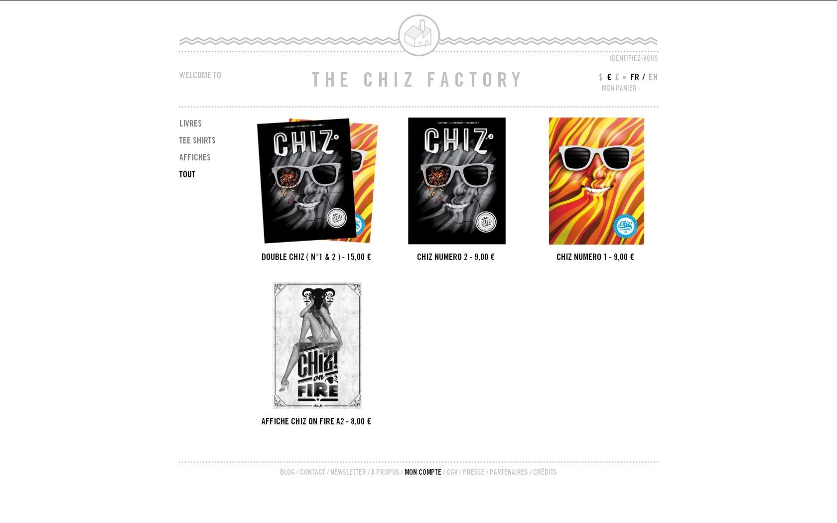 Chiz magazine - Produit