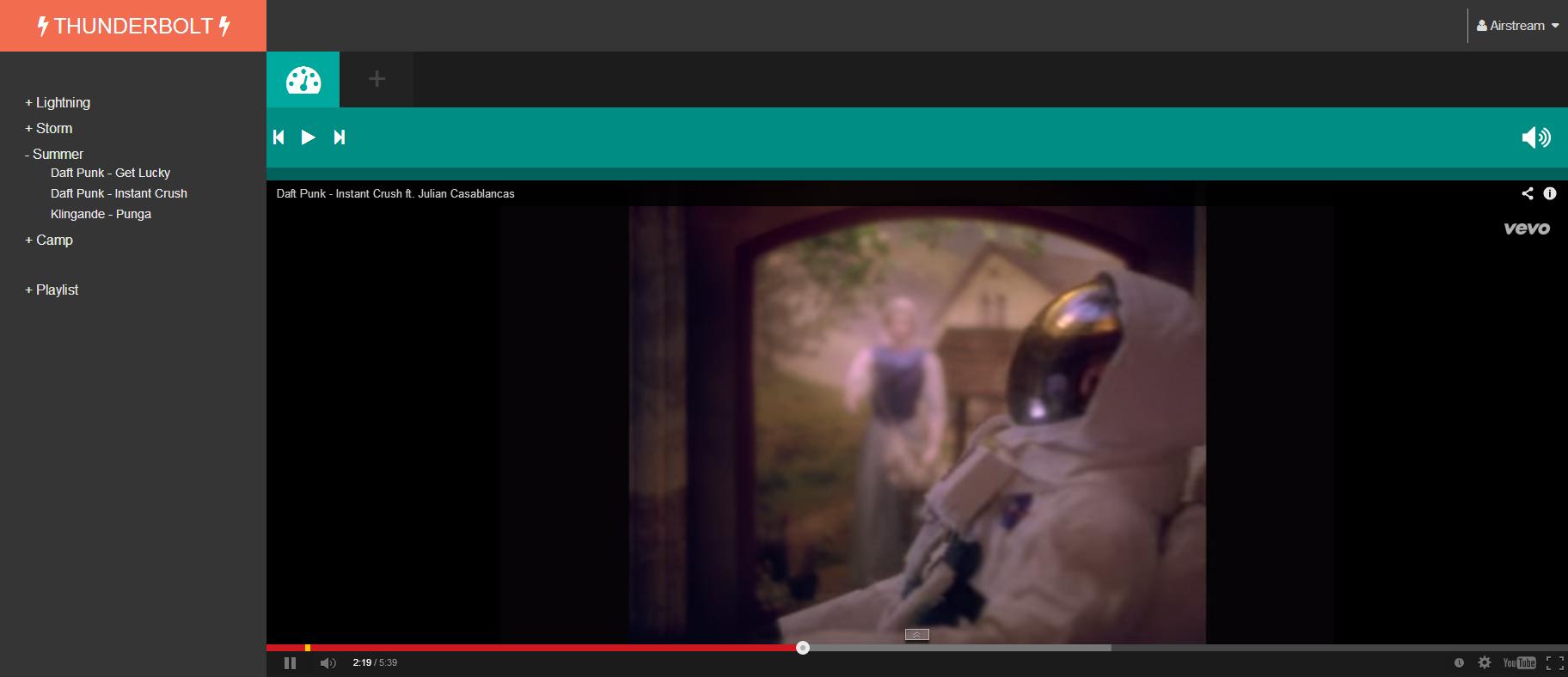 Video Thunderbolt